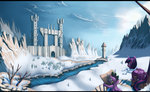 absurdres boots highres map princess_twilight scarf sceathlet snow spike twilight_sparkle