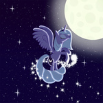 goldenmercurydragon highres princess_luna