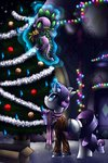 christmas_tree highres magic rarity scarf snow spike tidalwav-3 tree