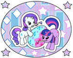 easter filly madmax rarity twilight_sparkle wallpaper