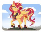 alicorn dennyvixen sunset_shimmer