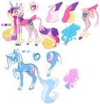 8-xenon-8 absurdres classical_unicorn highres princess_cadance redesign the_great_and_powerful_trixie