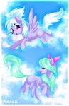 cloud cloudchaser flitter flying highres karzii