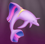 absurdres dolphin foxbeast highres princess_twilight species_confusion species_swap twilight_sparkle