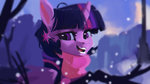 hierozaki highres princess_twilight scarf snow twilight_sparkle