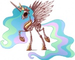 princess_celestia sachsen skeleton undead