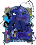 analog24 highres princess_luna transparent