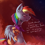 constellation imsokyo love rainbow_dash scootaffection scootaloo shooting_star stars tears