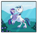 filly nukilik shining_armor twilight_sparkle