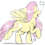 fluttershy highres kuroge singing