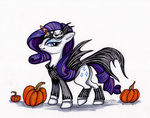 costume crossover halloween jack_skellington nightmare_before_christmas pumpkin rarity segdavinci