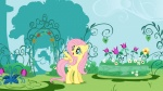 canterlot flowers fluttershy highres shelltoontv vector wallpaper
