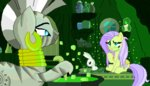 absurdres angel candle cauldron fluttershy highres pixel_art superhypersonic2000 zecora