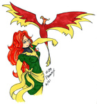 foxdilemma marvel_comics philomena phoenix_(marvel) x-men