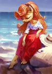 absurdres anthro golden_harvest hat highres holivi sea