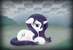 cutie_mark_swap rain raininess rarity wet_hair