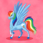 horselike rainbow_dash vicnor