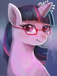 glasses highres twilight_sparkle xishka