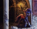 armor bat_pony castle guard_pony highres koviry original_character