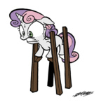 stilts sweetie_belle willdrawforfood1