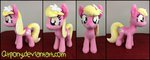 absurdres flowers highres lily_valley photo plushie qtpony toy