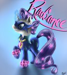 costume power_ponies radiance rarity robbergon