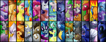 apple_bloom applejack big_macintosh braeburn cutie_mark_crusaders derpy_hooves diamond_dogs disgaea dj fido fluttershy gilda hoity_toity lyra_heartstrings main_six nightmare_moon parody pinkie_pie princess_celestia princess_luna qwert5 rainbow_dash rarity rover scootaloo snailsquirm snipsy_snap soarin spike spitfire spot sweetie_belle sweetie_drops the_great_and_powerful_trixie time_turner twilight_sparkle ursa_minor vinyl_scratch wonderbolts zecora