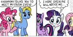 comic fluttershy kturtle original_character pinkie_pie princess_twilight pun rarity twilight_sparkle