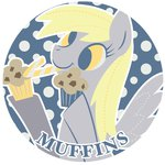 candy_cane derpy_hooves lowres muffin text yousukou