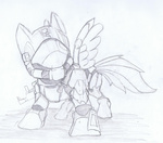 armor fangedwind gun halo lineart military rainbow_dash sketch weapon
