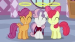 apple_bloom cutie_mark_crusaders highres scootaloo sweetie_belle tocupine vector wallpaper