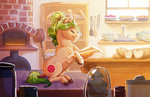 baking bread earthsong9405 highres original_character pie rolling_pin