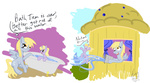 badzerg comic defenestration derpy_hooves dinky_hooves pony_bath_the_tub