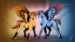 absurdres highres lupiarts rainbow_dash redesign shipping spitfire