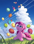 balloon balloons emeraldgalaxy highres pinkie_pie