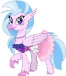 cloudyglow dress highres silverstream vector