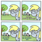 bench comic derpy_hooves lyra_heartstrings muffinexplosion sweetie_drops