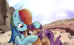 gsphere rainbow_dash scootaffection scootaloo tears