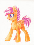maytee scootaloo traditional_art