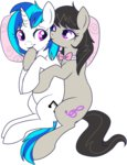 lowres lulubellct octavia_melody scratchtavia shipping vinyl_scratch