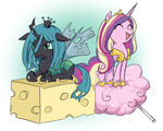 cheese cotton_candy keterok princess_cadance queen_chrysalis