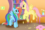 costume fluttershy halloween hylian-guardian rainbow_dash recolor