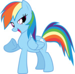 highres rainbow_dash shelltoontv transparent vector