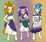 adagio_dazzle anthro aria_blaze mustlovefrogs sonata_dusk the_dazzlings
