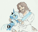 bible happy_50k_everybrony jesus joelashimself princess_luna tears