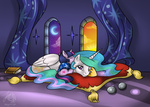 ks4u princess_celestia recycletiger twilight_sparkle