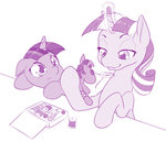dstears filly magic needle parents plushie smarty_pants thimble thread toy twilight_sparkle twilight_velvet