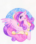 highres princess_cadance traditional_art zoliklispp