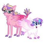princess_flurry_heart princess_skyla zerogravitybadger