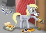 bb-kenobi derpy_hooves mail muffin poster tommysimms